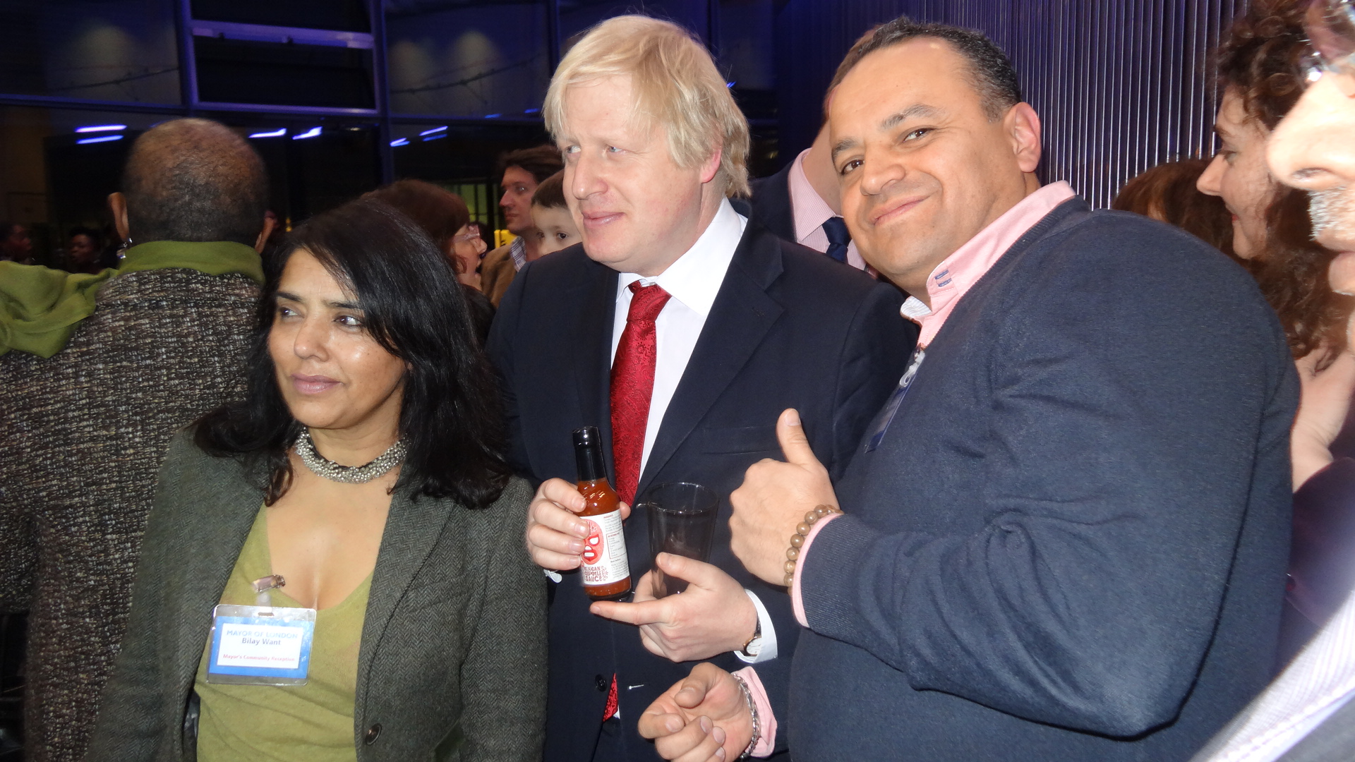 Mayor of London loves Kankun sauce!