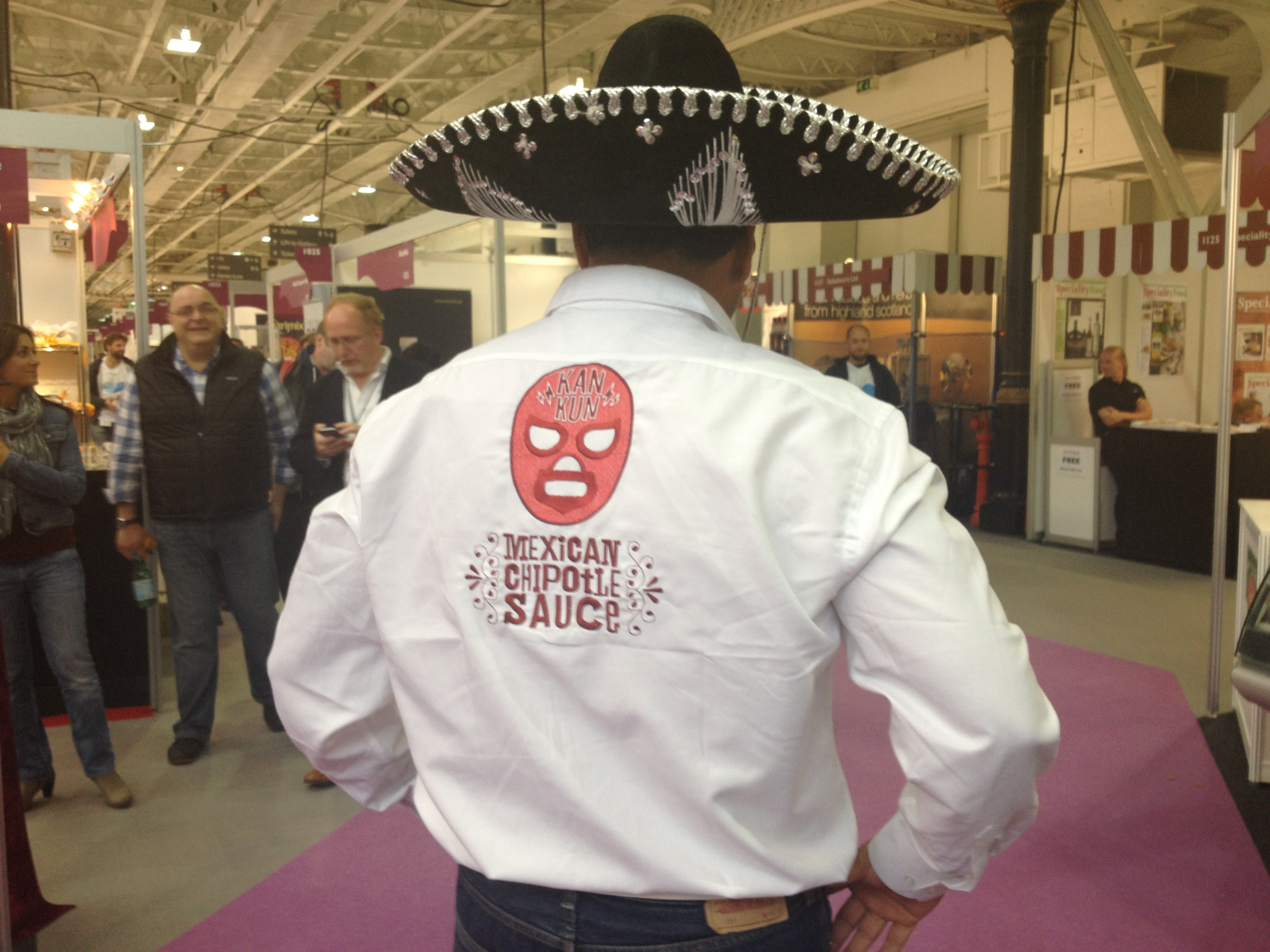 Kankun Sauce at the Speciality & Fine Food Fair 2013 – London Olympia