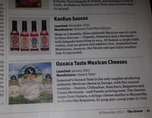 KANKUN Sauces featured in The Grocer