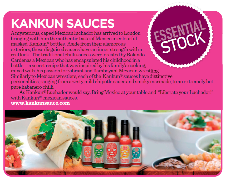 Speciality Food Magazine love Kankun's secret family recipe
