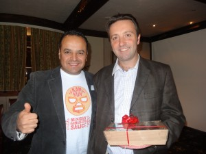 Rolando with Paul Cotswold Fayre