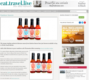 eat travel live