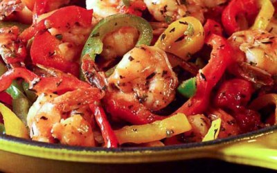 Spicy Tequila Shrimps