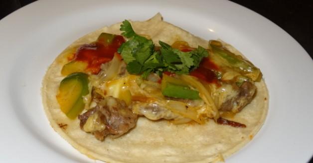 Tacos de Alambre (steak ) by El Burrito