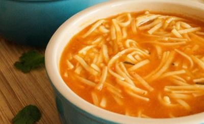 Fideo Soup (Mexican Noodle Soup)