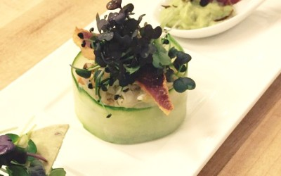 Crab with Guacamole (By Chef Richard McGeown)