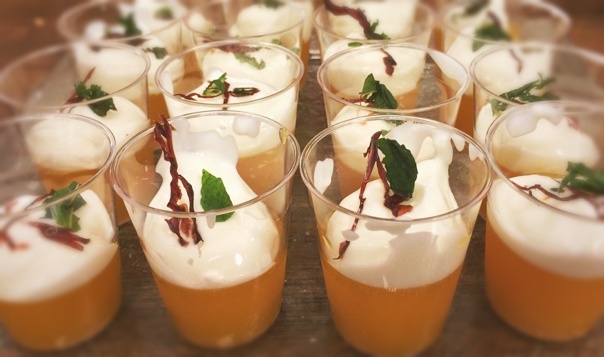 Margarita spicy jelly (By Chef Richard McGeown)