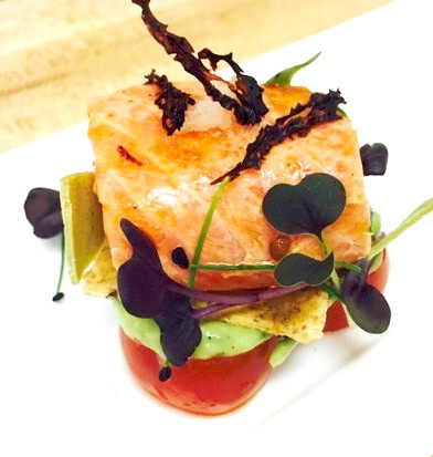 Salmon Ceviche (By Chef Richard McGeown)