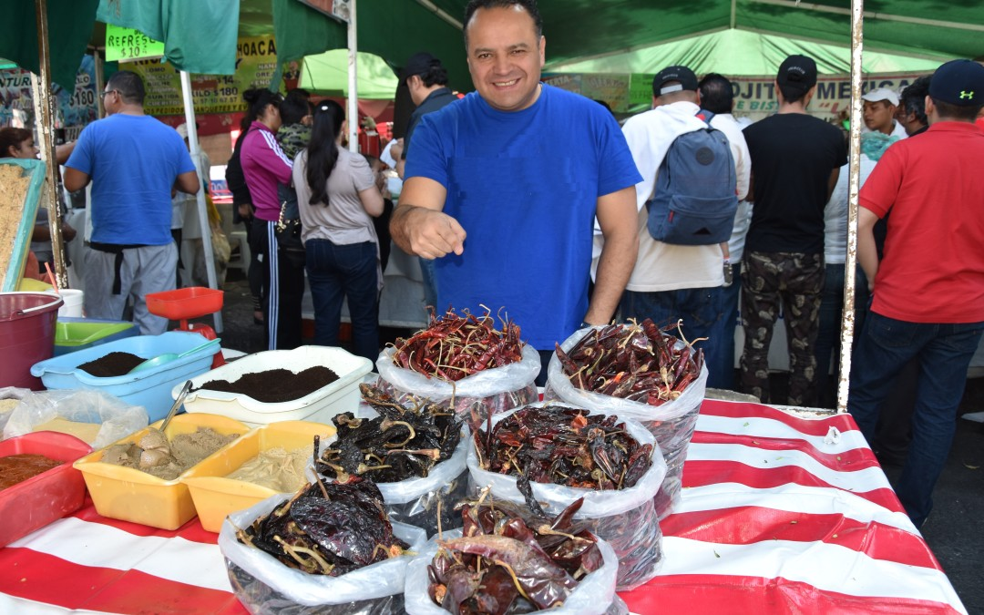 An Oasis for foodies :  The Mexican Street Markets