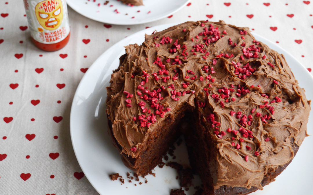Spicy Chocolate Fudge Cake
