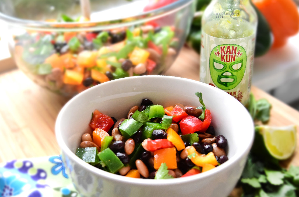 3 Beans 3 Peppers Salad