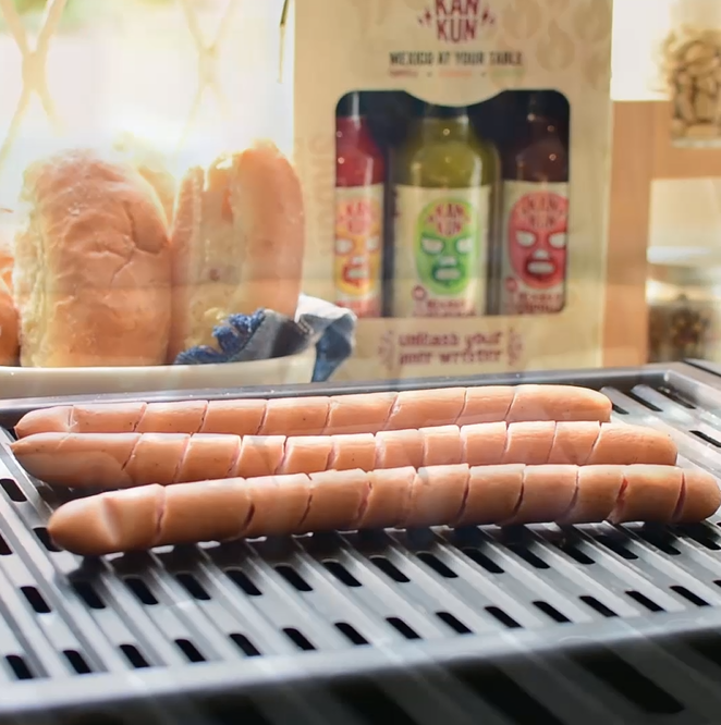 Spicy Hot Dogs