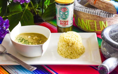 Fish Green Curry with Kankun™ Mexican Mole Green