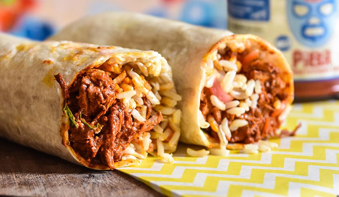 Burrito Pork Pibil