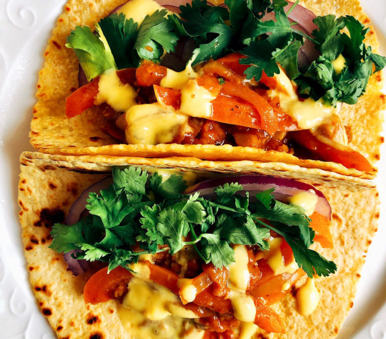 Fancy Some Chickpea Tinga Tacos? It's Mexican Monday!